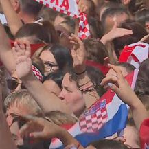 Doček Vatrenih u Splitu (Foto: Dnevnik.hr)