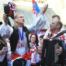 Domagoj Vida najveći je pozitivac i veseljak u hrvatskoj reprezentaciji