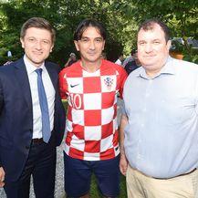Zdravko Marić, Zlatko Dalić, Jakov Kitarović (FOTO: Vjeran Zganec-Rogulja/PIXSELL)