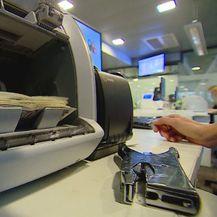 Uređaj ze prebrojavanje novca (Foto: Dnevnik.hr)