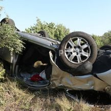 Prometna nesreća između Pirovca i Draga (Foto: Dusko Jaramaz/PIXSELL) - 7