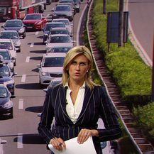Gužva na naplatnoj postaji Lučko u Zagrebu (Video: Vijesti u 17h)