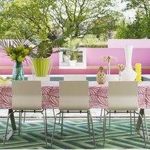Kombinacija zelene i ružičaste u interijeru izgleda baš divno - 9