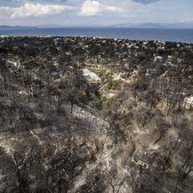 Posljedice katastrofalnog požara u Grčkoj (Foto: AFP) - 3