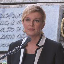 Kolinda Grabar-Kitarović u Jasenovcu (Foto: Dnevnik.hr)