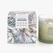 Zara Home, valjkasta svijeća tuberose bouquet, 99 kn (prijašnja cijena 159 kn)