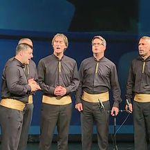 Klapa pjeva ''Moj Gelebe'' na komemoraciji (Video: Dnevnik.hr)