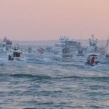 Oliver posljednji put plovi prema Veloj Luci (Foto: Dnevnik.hr) - 2