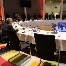 O novim čelnicima EU-a raspravljalo se i na radnom ručku (Foto: AFP)