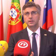 Andrej Plenković u Bruxellesu (Video: Dnevnik.hr)