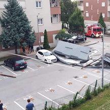 Nevrijeme u Zagrebu (Foto: Miro Malbašić) - 2
