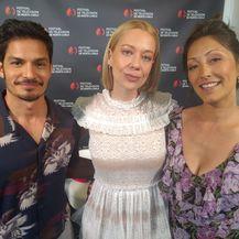 Nicholas Gonzales, Christina Chang, Ivana Nanut (Foto: Nova TV)
