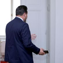 Lovro Kuščević na odlasku (Foto: Patrik Macek/PIXSELL)