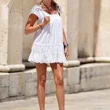Dama iz Šibenika u ležernoj ljetnoj kombinaciji