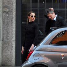Hugh Grant i Anna Eberstein (Foto: Profimedia)