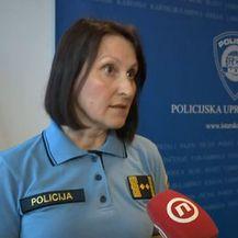 Glasnogovornica PU Istarske Sanja Vitasović (Foto: Dnevnik.hr)