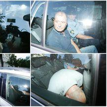 Uhićeni dovedeni u USKOK na ispitivanje (Foto: Filip Kos/PIXSELL)