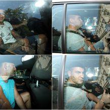 Uhićeni dovedeni u USKOK na ispitivanje (Foto: Goran Stanzl/PIXSELL)