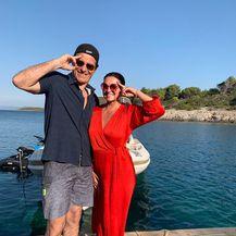 Nina Badrić i Goran Višnjić (Foto: Instagram)