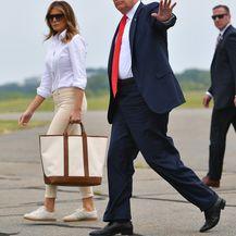 Melania Trump u skinny hlačama i tenisicama - 4