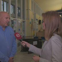 Ravnatelj Klaićeve bolnice Goran Roić i Martina Bolšec Oblak (Foto: Dnevnik.hr)