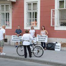 Prosvjed u Sisku (Foto: Pixsell,Nikola Cutuk) - 2