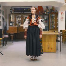 Jelena Vukadin odjevena u vezenku