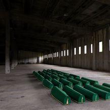 Posmrtni ostaci žrtava Srebrenice (Foto: Armin Durgut/PIXSELL)