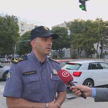 Perica Orešković, načelnik Prometne policije PU splitsko-dalmatinske, i Mario Jurič (Foto: Dnevnik.hr)