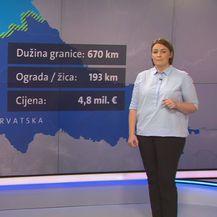 Činjenice o ogradi na hrvatsko-slovenskoj granici (Foto: Dnevnik.hr)