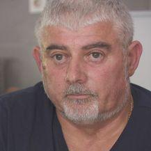 Ivica Sarić, otac Žarka Sarića, poginulog radnika DIV grupe (Foto: Dnevnik.hr)