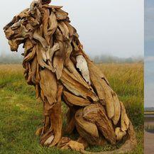 Drvene skulpture (Instagram: jeffro_art)