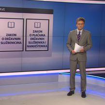 Zakoni vezani uz državnu upravu (Foto: Dnevnik.hr)