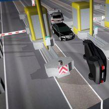 Grafički prikaz prometne nesreće na naplatnim kućicama (Foto: Dnevnik.hr) - 1