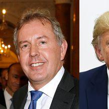 Kim Darroch i Donald Trump (Foto: AFP)
