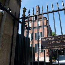 Britansko veleposlanstvo u SAD-u (Foto: AFP)