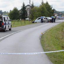 Prometna nesreća kod Vrginmosta, poginula jedna osoba (Foto: Nikola Cutuk/PIXSELL)