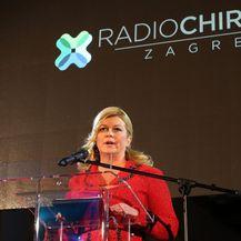 Predsjednica na otvaranju Radiochirurgije (Foto: Robert Anic/PIXSELL)