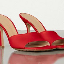 Sandale četvrtastog oblika Bottega Veneta