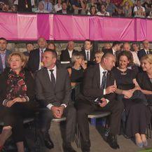 Političari na otvaranju Pula Film Festivala (Foto: Dnevnik.hr)