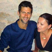 Nina Badrić i Novak Đoković (Foto: Instagram)