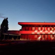 Ured predsjednice republike u bojama Vatrenih (Foto: Ured predsjednice)