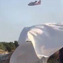 Buknuo veliki požar na Zrću (Video: Čitatelj)