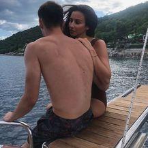 Dominik Livaković, Helena Matić (Foto: Instagram)