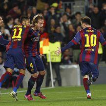 Luis Suarez, Neymar, Ivan Rakitić i Lionel Messi (Foto: AFP)