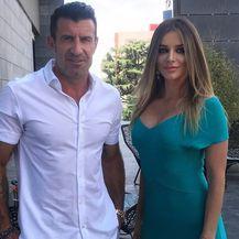 Luis Figo, Fani Stipković (Foto: Instagram)