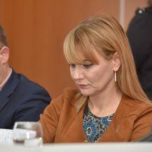 Bruna Esih i Zlatko Hasanbegović (Foto: Dino Stanin/PIXSELL)