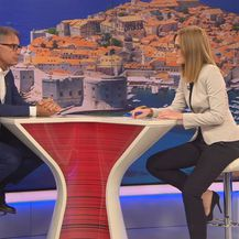 Ministar turizma Gari Cappelli i Martina Bolšec Oblak (Foto: Dnevnik.hr)