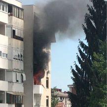Eksplozija u zgradi u Stenjevcu (Foto: Čitateljica) - 1