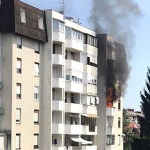 Eksplozija u zgradi u Stenjevcu (Foto: Čitateljica) - 2